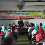 Banyuwangi Gelar Sosialisasi Migran Aman