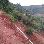Lokasi Longsor di Nganjuk Membentuk Sebuah Bendungan