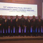 Menkopolhukam Bahas Isu Penting di 15th APSC di Filipina