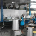 Tagana Dinsos Siapkan 800 Nasi Banyuwangi Bungkus Setiap Hari