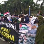 Aksi Solidaritas Dari Kediri Untuk Palestina