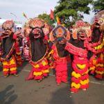 1.000 Barong Nusantara Ramaikan Festival Panji Nasional di Kediri