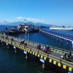 Pemudik Sepeda Motor Mulai Penuhi Arus Balik Lebaran di Pelabuhan Ketapang