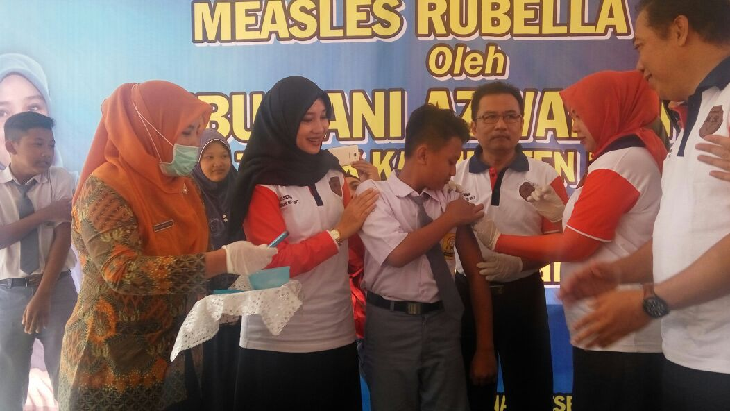 Kabupaten Banyuwangi Gelar Kampanye Imunisasi Measles Rubela