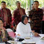 Megawati Puji Kinerja Tri Rismaharini Mengelola Kota Surabaya