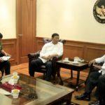 Menko Polhukam Bahas Keamanan Papua Bersama Staf Khusus Presiden untuk Papua