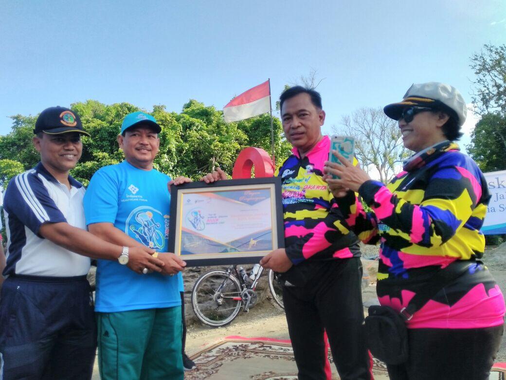 Kampanye Hidup Sehat, Kodam Iskandar Muda Gelar Tour Sabang-Jakarta 3000K