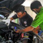 Dukung Program Diversifikasi Energi Ramah Lingkungan, Pemkot Pasang Alat Konverter BBG pada Mobil Dinas