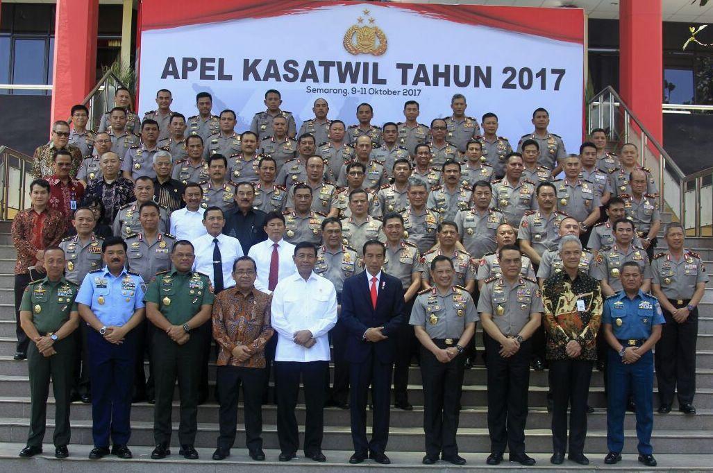 Presiden Jokowi Tekankan Pentingnya Jaga Stabilitas Keamanan dan Politik