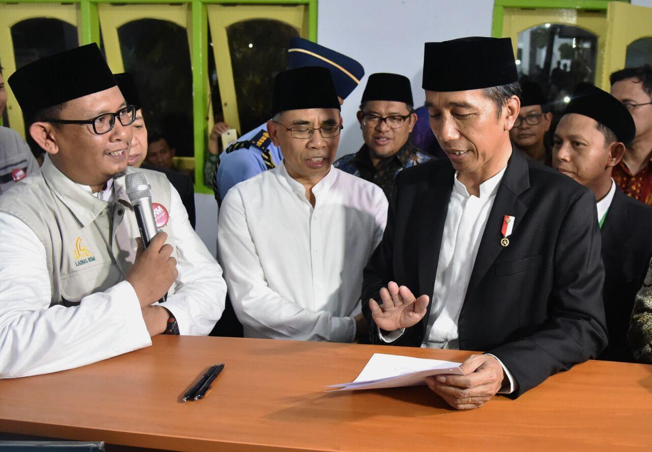 Presiden Ajak Umat Muslim Teladani Sikap Kecintaan Bangsa Para Kiai