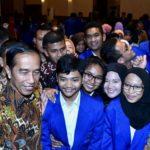 Presiden Jokowi Dorong Mahasiswa Berinovasi