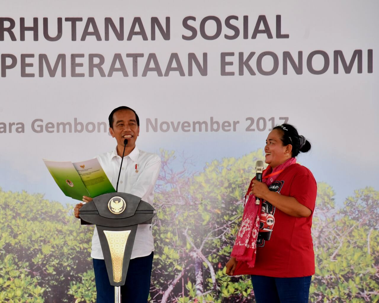 Presiden Jokowi : Persoalan Tanah Karena Masyarakat Hanya Miliki Surat Keterangan