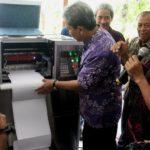 Mesin Cetak Braille Pertama Karya ITS Siap Dipasarkan