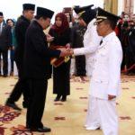 Dewanti dan Punjul Dilantik Sebagai Wali Kota dan Wakil Wali Kota Batu