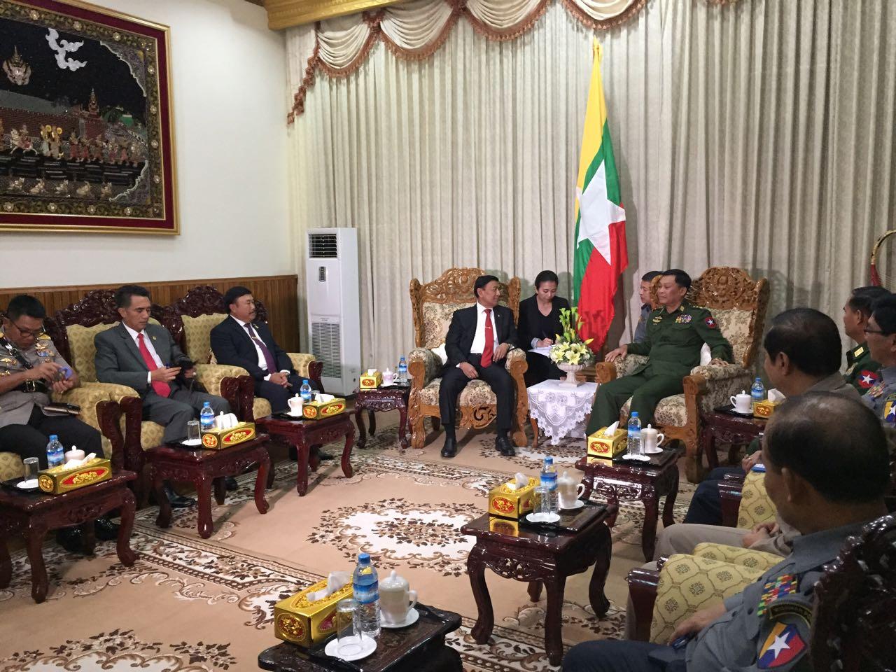 Menko Polhukam Tawarkan Kerja Sama Counter Terrorism ke Myanmar