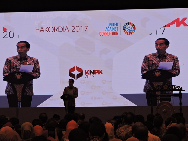 Presiden Jokowi : Rp 3,55 Triliun Uang Negara Diselamatkan Penegak Hukum