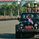 Presiden Pimpin Apel Kebangsaan Bela Negara Putra Putri Purnawirawan Indonesia