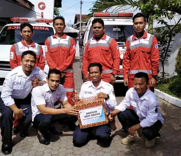 Wabup Banyuwangi Berangkatkan Relawan PMI ke Gunung Agung