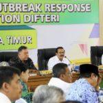 Pemprov Jawa Timur Sikapi Serius Penanganan KLB Difteri