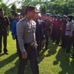 Polresta Kediri Gelar Apel Kesiapan Pengamanan Pilkada 2018