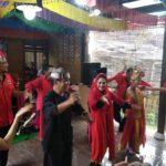 Kunjungi Rumah Budaya Osing, Puti Guntur Soekarno Ikut Menari Gandrung