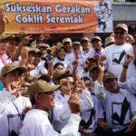 KPU Lakukan Gerakan Coklit Nasional dari Surabaya