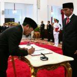 Presiden Lantik Djoko Setiadi Sebagai Kepala BSSN