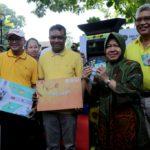 Kawasan Taman Bungkul Jadi Area Baru Penerapan Layanan Parkir Meter di Surabaya