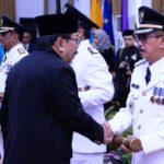 Empat Penjabat Bupati Dilantik Gubernur Jawa Timur