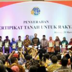 Presiden Serahkan 5.153 Sertifikat Tanah di Malang