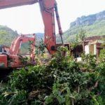 17 Rumah Warga Digusur untuk Pembangunan Waduk