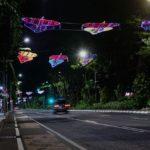 Lampu Hias dan Lampion Percantik Wajah Kota Surabaya di Malam Hari