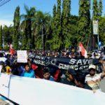 Aliansi Masyarakat Ponorogo Tuntut Mundur Bupati Ipong