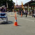Polres Ponorogo Gelar Kapolres Cup Lomba Adu Ketangkasan Mengayuh Becak