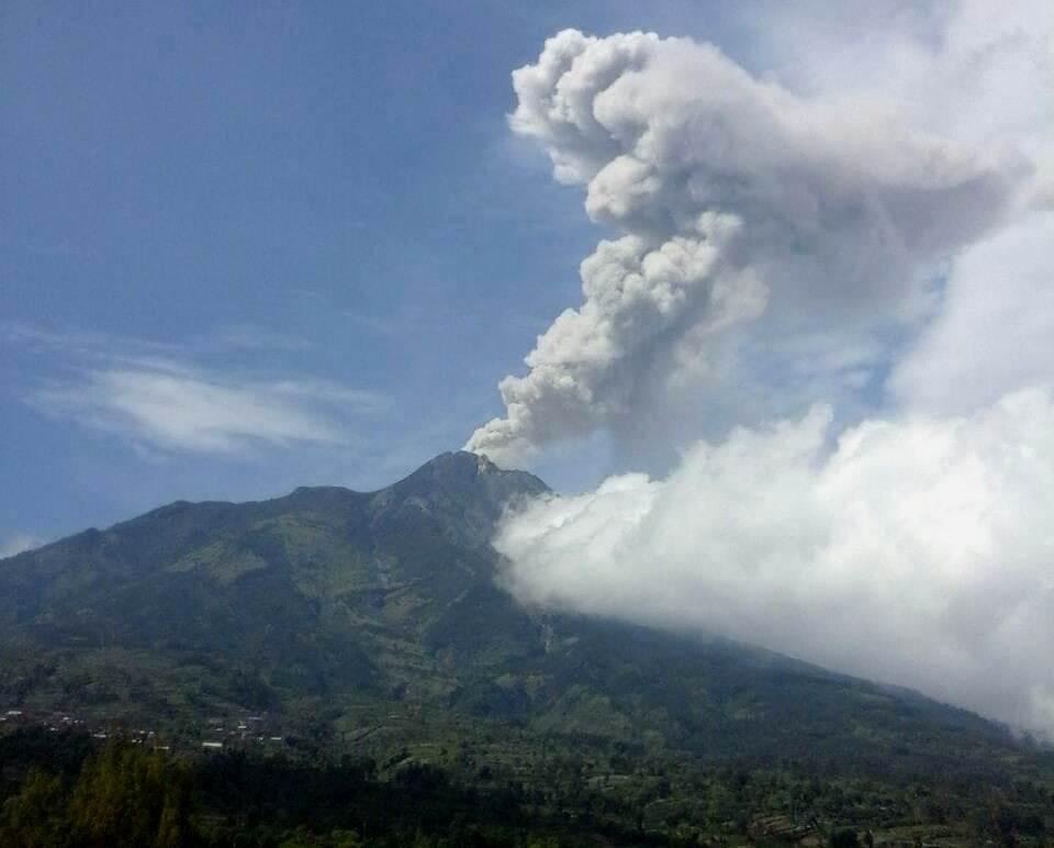 Status Gunung Merapi Meningkat dari Normal Menjadi Waspada Level II