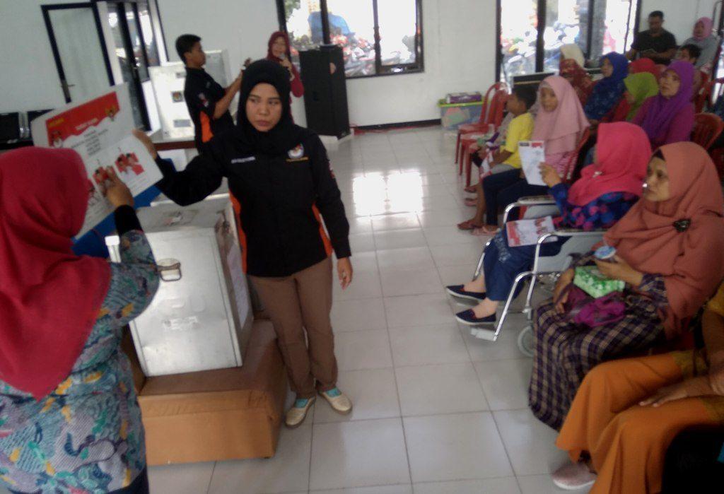 KPU Kota Kediri Sosialisasi Pilkada Bersama Komunitas Disabilitas