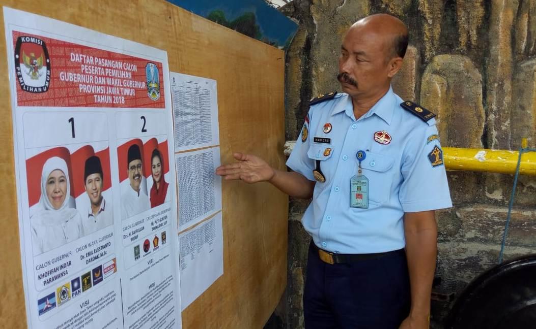 Rumah Tahanan Ponorogo Pastikan Semua Napi Mempunyai Hak Pilih