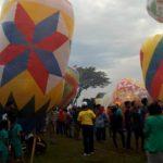 Sambut Lebaran, Warga Ponorogo Ikuti Festival Balon Udara