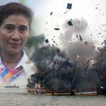 Ratusan Kapal Pencuri Ikan Ditenggelamkan