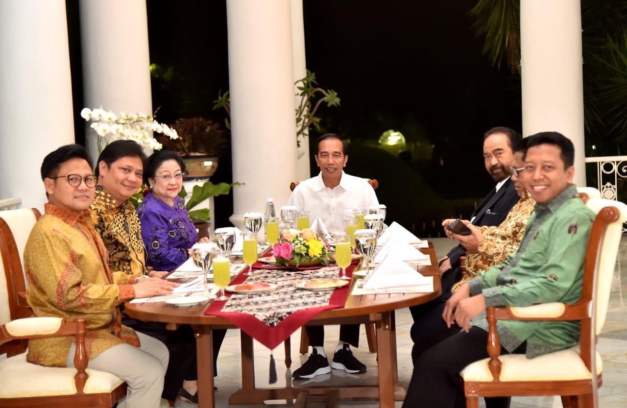 Koalisi Sepakati Cawapres Pendamping Jokowi