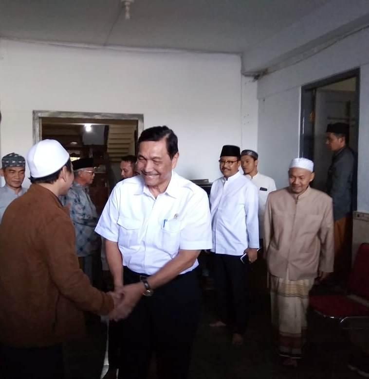 Luhut : Cawapres Jokowi Bukan Wewenang Saya