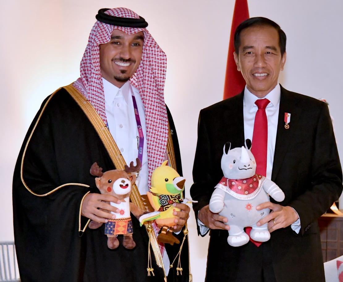 Terima Kunjungan Pangeran Arab, Presiden Jokowi, Titip Jemaah Haji Indonesia