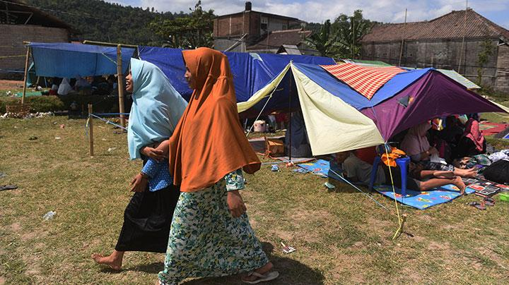 400 Hunian Sementara untuk Korban Gempa