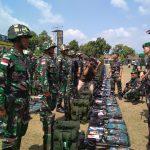 Pengamanan Perbatasan, 450 Prajurit Kodam V Brawijaya Diberangkatkan ke Perbatasan Papua