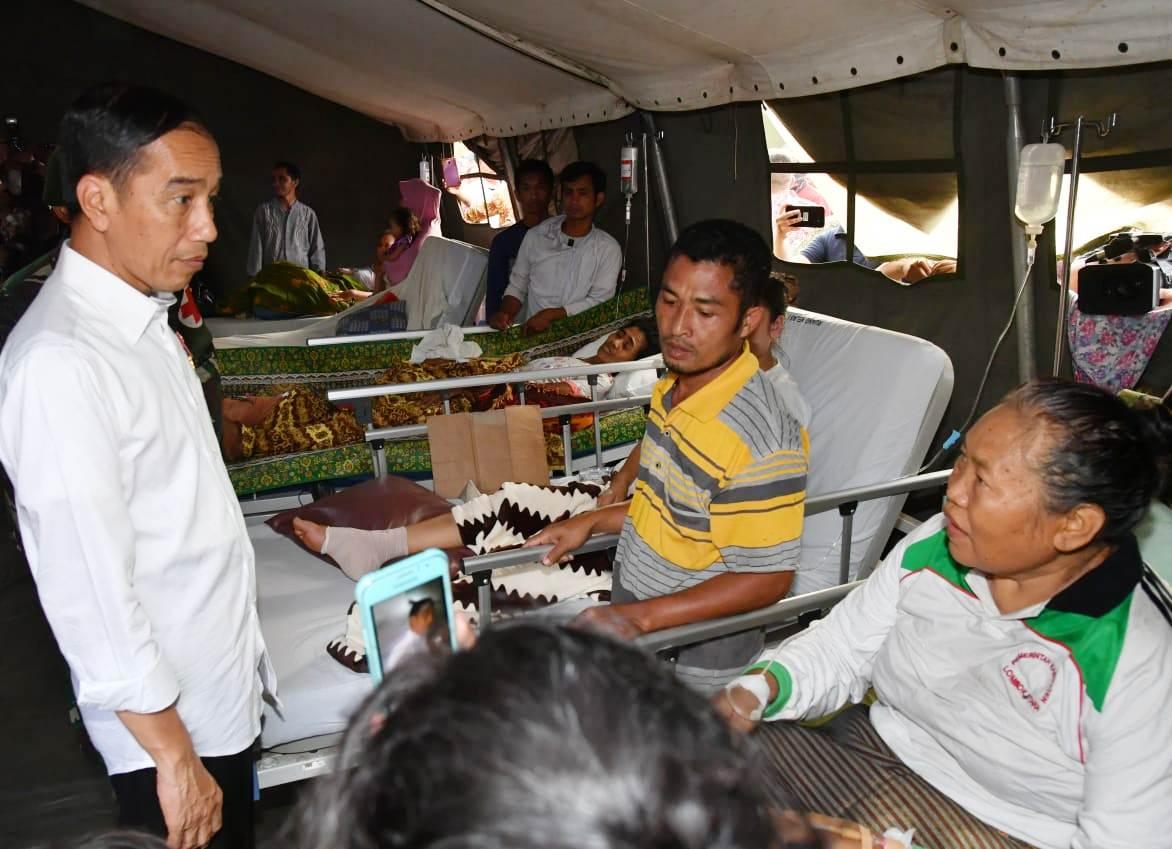 Rumah Sakit Lapangan untuk Lombok Utara