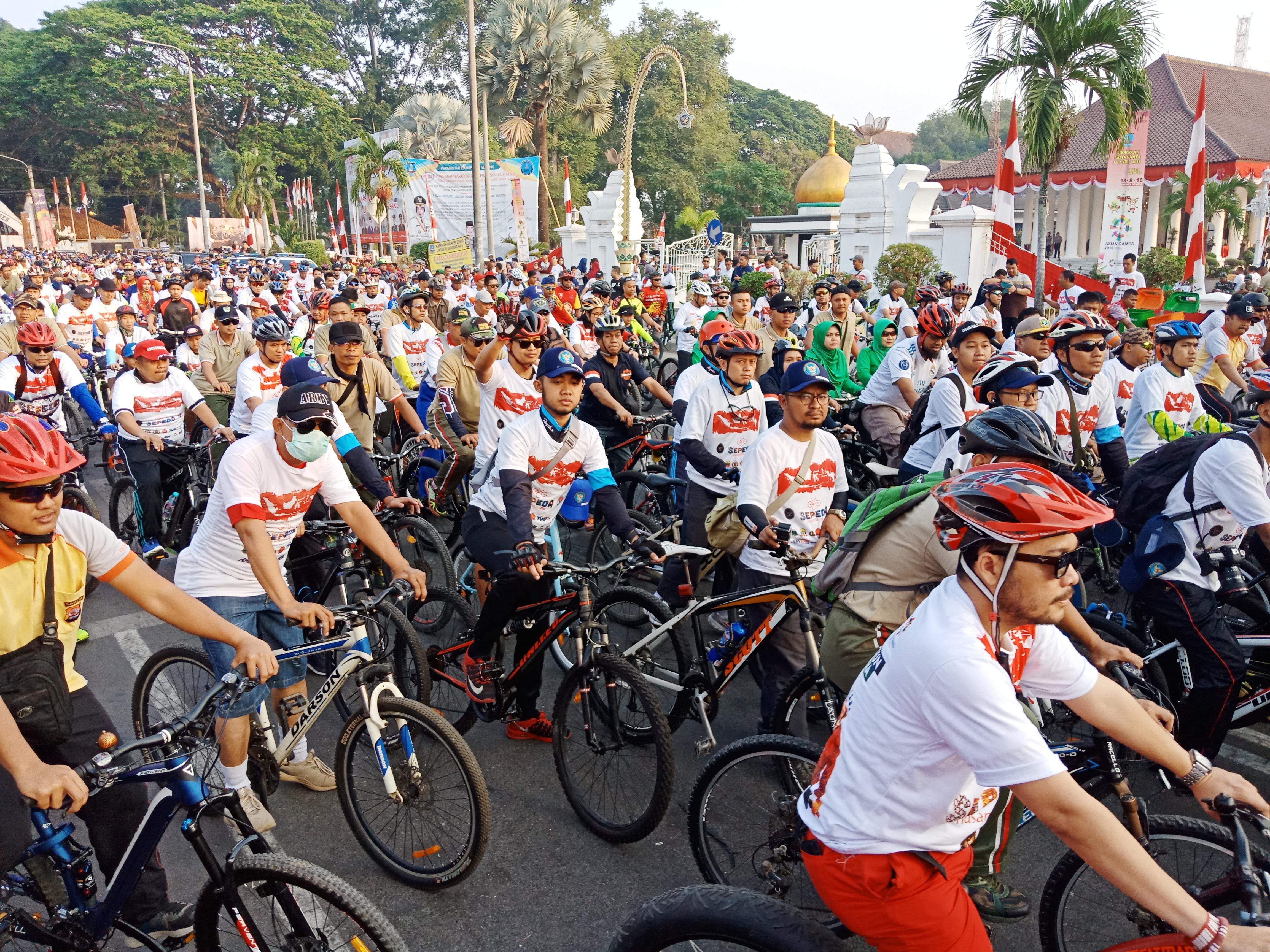 Bangun Persatuan Melalui Sepeda Nusantara