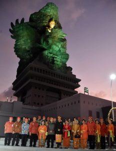 Presiden Jokowi Sebut GWK Mahakarya Anak Bangsa