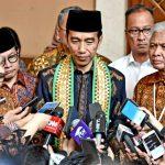 Presiden Jokowi Terima Pengunduran Diri Din Syamsuddin