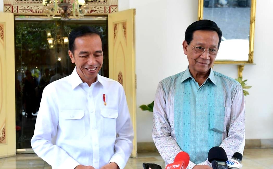 Presiden Jokowi Kunjungi Kraton Jogja, Bahas Isu Kebangsaan Hingga Keluarga
