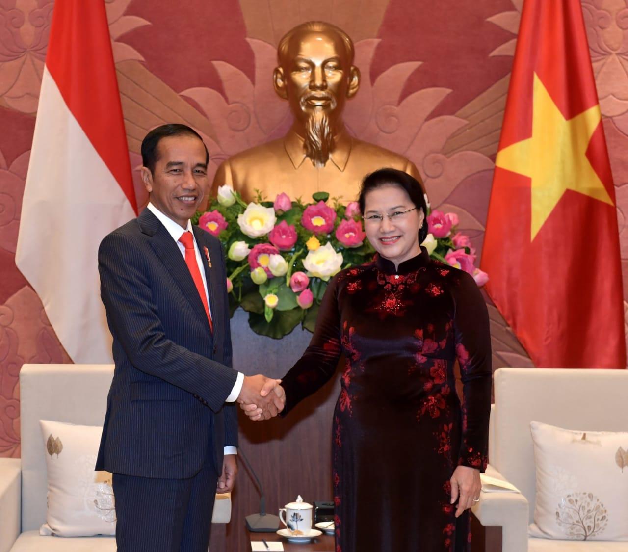 Pujian Ketua Majelis Vietnam untuk Indonesia